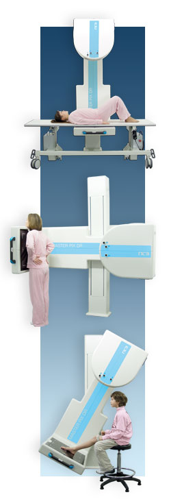 direct digital DR x-ray system from NTB, examples
